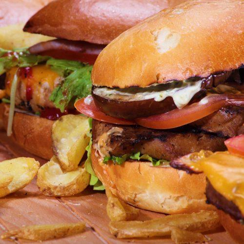Hamburger / Pulled Pork
